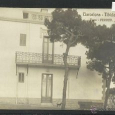 Postales: BARCELONA - TIBIDABO - TORRE FERRER - FOTOGRAFICA- (2223). Lote 40912685