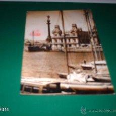 Postales: POSTAL PUERTO DE BARCELONA, FINALES AÑOS 50. Lote 40971778
