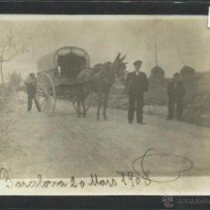 Postales: BARCELONA - FOTOGRAFICA SELLO EN SECO J.ALONSO CALLE TRAFALGAR - 1908 - (2273). Lote 40974137