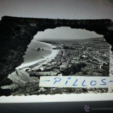 Postales: POSTAL ANTIGUA DE BLANES, VISTA GENERAL DESDE EL CASTILLO. Lote 41076643