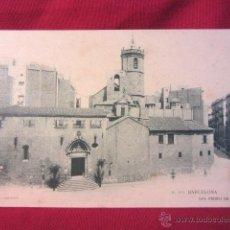 Postales: BARCELONA -SAN PEDRO DE LAS PUELLAS. Lote 41202417