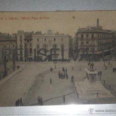 Postales: REUS PLAZA DE PRIM ATV 438 BIS CIRCULADA REUS FRANCIA 1910 ESCRITA CON TAQUIGRAFIA. Lote 41220578