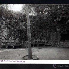Postales: ARGENTONA. MANANTIAL BURRIACH. CIRCULADA. Lote 50953458