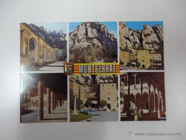 ASPECTOS DE MONTSERRAT. BARCELONA. ED. ESCUDO DE ORO (Postales - España - Cataluña Antigua (hasta 1939))