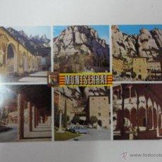 Postales: ASPECTOS DE MONTSERRAT. BARCELONA. ED. ESCUDO DE ORO. Lote 41405391