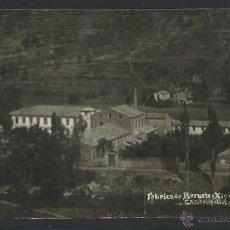Postales: CASTELLFOLLIT DE LA ROCA - FABRICA DE BERNETE Y XIPOLL S. EN C. - V. FARGNOLI - FOTOGRAFICA - (2457). Lote 41408906