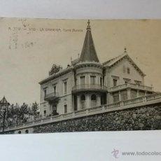 Postales: POSTAL LA GARRIGA TORRE AURORA. CIRCULADA.. Lote 41462563