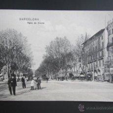 Postales: POSTAL BARCELONA. PASEO DE GRACIA. CIRCULADA. . Lote 41590727