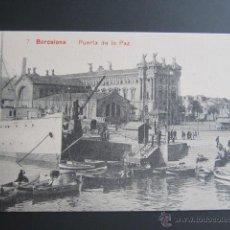 Postales: POSTAL BARCELONA. PUERTA DE LA PAZ. . Lote 41593284