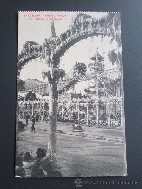 POSTAL BARCELONA. SATURNO PARQUE. (Postales - España - Cataluña Antigua (hasta 1939))