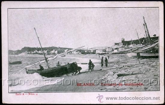 Postales: POSTAL GIRONA GERONA BLANES TORNANT DE MATINADA . ca año 1900 . - Foto 1 - 41594036