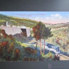 Postales: POSTAL BARCELONA. FUNICULAR DE TIBIDABO. Lote 41601297