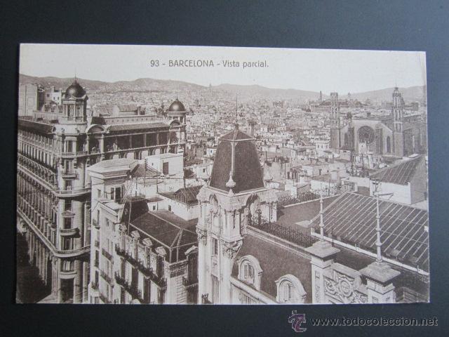 POSTAL BARCELONA. VISTA BARCELONA. (Postales - España - Cataluña Antigua (hasta 1939))