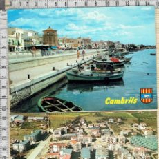 Postales: LOTE 2 POSTALES CAMBRILS -TARRAGONA.. Lote 41619581