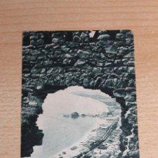 Postales: 2- BLANES: VISTA DE DEL CASTELL DE SANT JOAN - FOT. PONS. Lote 41650595