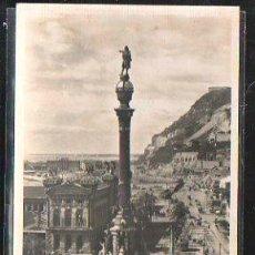 Postales: TARJETA POSTAL DE BARCELONA - MONUMENTO A COLON. 74. ZERKOWITZ. Lote 41680869
