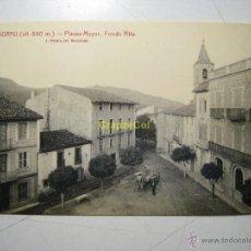 Postales: VILADRAU: PLASSA MAYOR. FONDA RITA - POSTAL ORIGINAL. Lote 41707437