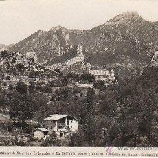 Postales: LA NOU, SANTUARIO DE NUESTRA SEÑORA DE LOURDES, CASA DEL FUNDADOR, EDITOR: NO LO DICE Nº 2. Lote 41731861