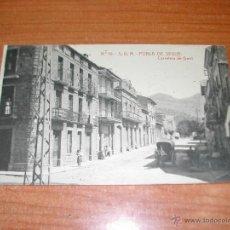Postales: Nº 10. POBLA DE SEGUR. CARRETERA DE GERRI. AÑOS 1930. 1544.. Lote 41732502