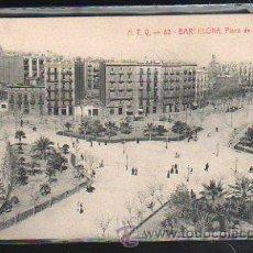 Postales: TARJETA POSTAL DE BARCELONA - A.T.V. 82. PLAZA DE TETUAN. Lote 41796448