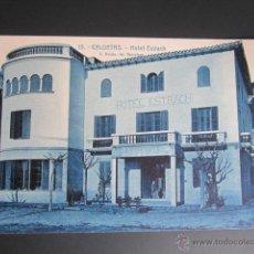 Postales: POSTAL BARCELONA. CALDETAS. HOTEL ESTRACH. . Lote 41836629