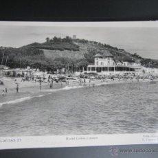 Postales: POSTAL BARCELONA. CALDETAS. HOTEL COLÓN Y PLAYA. CIRCULADA. . Lote 41887643