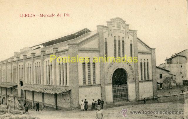 (A03882) LERIDA - MERCADO DEL PLA - SIN EDITOR VISIBLE (Postales - España - Cataluña Antigua (hasta 1939))