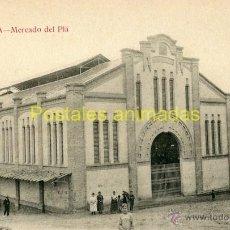 Postales: (A03882) LERIDA - MERCADO DEL PLA - SIN EDITOR VISIBLE. Lote 41992459