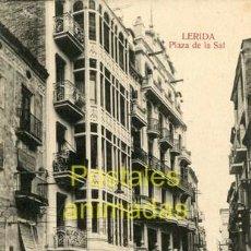 Postales: (A03891) LERIDA - PLAZA DE LA SAL - URRIZA. Lote 41992666