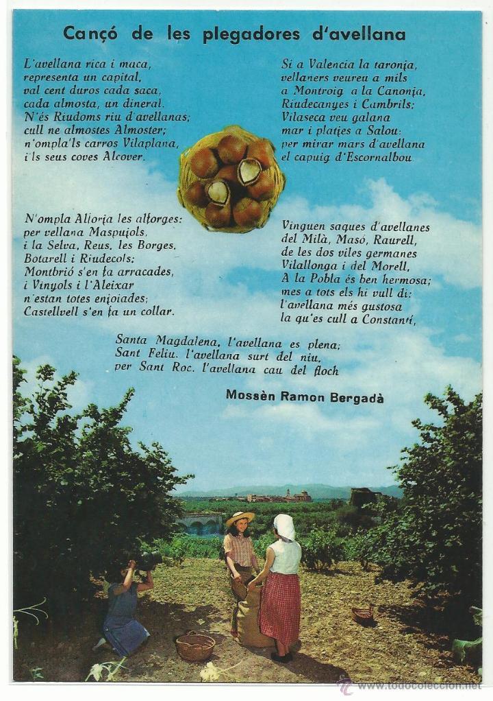 010499ef0e camp de tarragona.-recollida d avellanes.-edici - Buy Postcards from ...