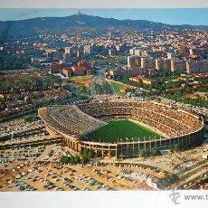 Postales: POSTAL BARCELONA, NOU CAMP BARCELONA CLUB FUTBOL. AÑO 1970. CIRCULADA, ESCRITA. Lote 42029953
