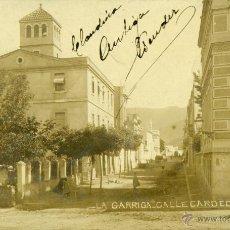 Postales: LA GARRIGA. CALLE CARDEDEU. CIRCULADA EN 1909. FOTOGRÁFICA.. Lote 42142495