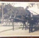 Postales: POSTAL FOTOGRÁFICA. BARCELONA. PARQUE. CARRUAJE. 1922.. Lote 42149031