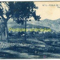 Postales: (A03934) POBLA DE SEGUR - VISTA GENERAL - THOMAS Nº5 - CIRCULADA 1908. Lote 42183448