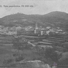 Postales: POSTAL VILADRAU ( OSONA - BARCELONA) VISTA PANORAMICA. Lote 42272739