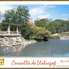 Postales: POSTAL CORNELLA DE LLOBREGAT - PARC CAN MERCADER. Lote 136289150