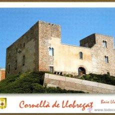 Postales: POSTAL CORNELLA DE LLOBREGAT - CASTELL DEL BORNI. Lote 136289282