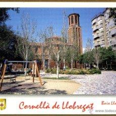 Postales: POSTAL CORNELLA DE LLOBREGAT - SANTA MARIA. Lote 136289209