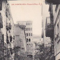 Postales: BUENA POSTAL DE BARCELONA- PLAYA DEL REY T.T. - EDIT THIRIATY CIA Nº 190. Lote 42308363