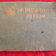 Postales: ALBUM DE 72 VISTES - MONTSERRAT. Lote 42310260