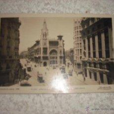 Postales: BARCELONA PLAZA JUNQUERAS. Lote 42371640