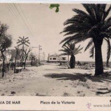 Postales: PREMIÁ DE MAR (BARCELONA).- PLAZA DE LA VICTORIA. Lote 42384421