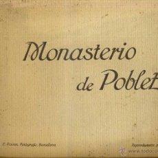Postales: ALBUM 20 VISTAS MONASTERIO DE POBLET ROISIN FORMATO 24X30. Lote 42387131