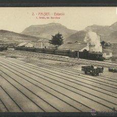 Postales: FALSET - 2 - ESTACIO -FERROCARRIL - ROISIN - (2894). Lote 42389897
