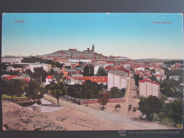 POSTAL LLEIDA. LÉRIDA, VISTA GENERAL. CIRCULADA. (Postales - España - Cataluña Moderna (desde 1940))