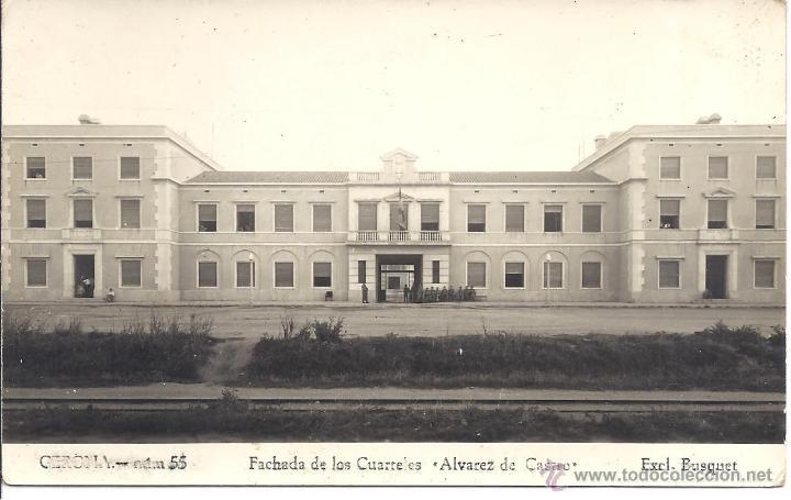 Ps4184 gerona 39 fachada de los cuarteles lvarez comprar for Alvarez de castro