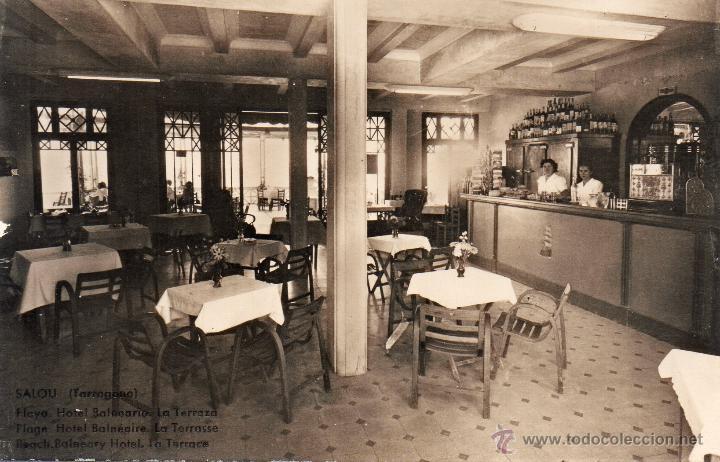 SALOU. HOTEL BALNEARIO LA TERRAZA. CHINCHILLA (Postales - España - Cataluña Moderna (desde 1940))