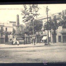 Postales: P.V.F. –MATARÓ-PLAZA DE STA. ANA. Lote 42530685