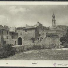 Postales: ALFORJA - PORTAL - FOTOGRAFICA - (20749). Lote 42547435