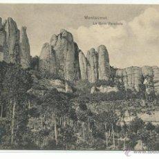 Postales: MONTSERRAT .- LA ROCA FORADADA .-EDICION L. ROCA. Lote 42565592